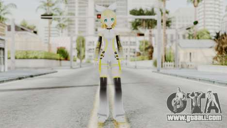 Project Diva F 2nd - Kagamine Rin Append for GTA San Andreas second screenshot