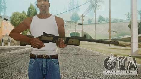 M40A5 Battlefield 3 for GTA San Andreas third screenshot
