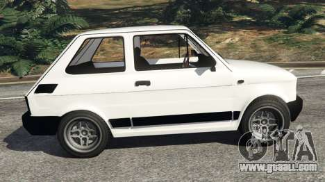 GTA 5 Fiat 126p v0.5 left side view
