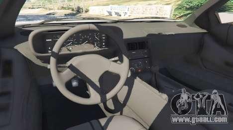 GTA 5 DeLorean DMC-12 right side view
