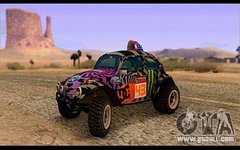 VW Baja Buggy Gymkhana 6 for GTA San Andreas