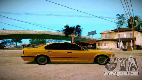 BMW 525tds E34 Russian Taxi for GTA San Andreas right view