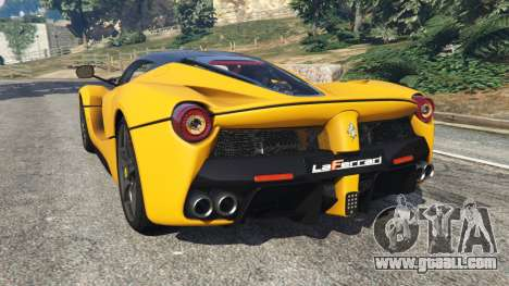 GTA 5 Ferrari LaFerrari 2015 left side view
