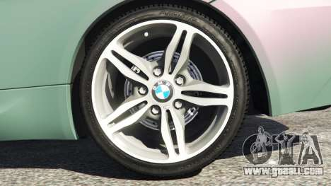 GTA 5 BMW M6 (E63) Tunable rear right side view