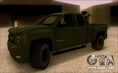 Chevrolet Silverado 2500 Best Edition for GTA San Andreas