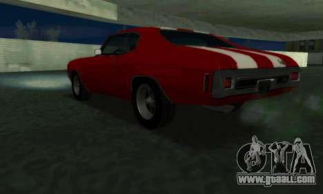 Chevrolet Chevelle SS [Winter] for GTA San Andreas left view