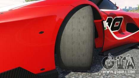 GTA 5 Ferrari FXX-K 2015 right side view