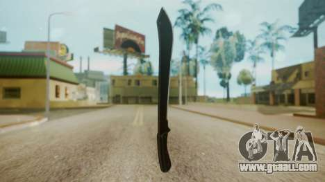 GTA 5 Machete (From Lowider DLC) for GTA San Andreas second screenshot