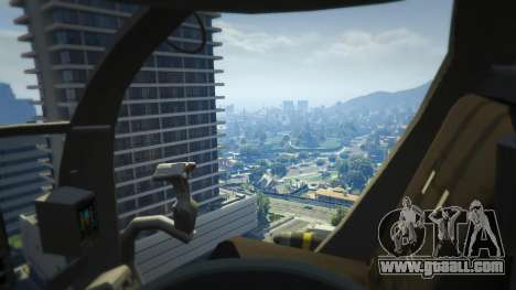 GTA 5 MH-6/AH-6 Little Bird Marine fifth screenshot
