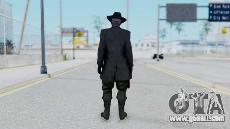 SkullFace Mask and Hat for GTA San Andreas third screenshot
