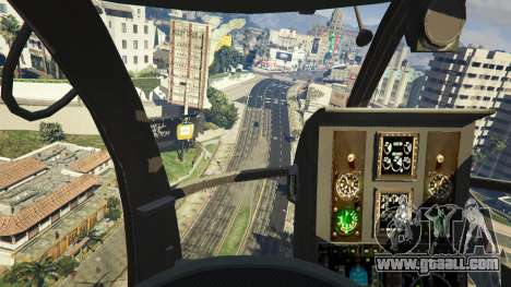 GTA 5 MH-6/AH-6 Little Bird Marine seventh screenshot