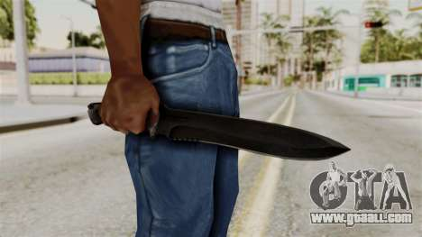 Knife from RE6 for GTA San Andreas third screenshot