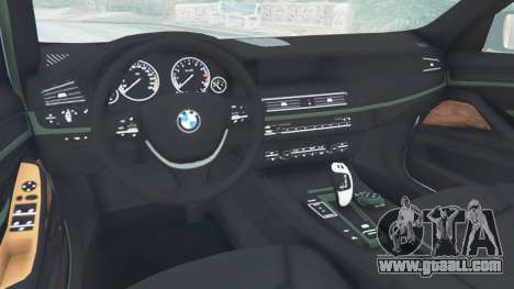 GTA 5 BMW 525d (F11) Touring 2015 (US) right side view