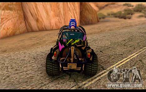 VW Baja Buggy Gymkhana 6 for GTA San Andreas right view