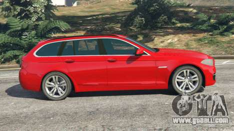 GTA 5 BMW 525d (F11) Touring 2015 (UK) left side view