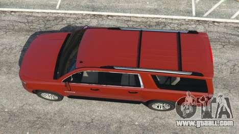 GTA 5 Chevrolet Suburban 2015 back view