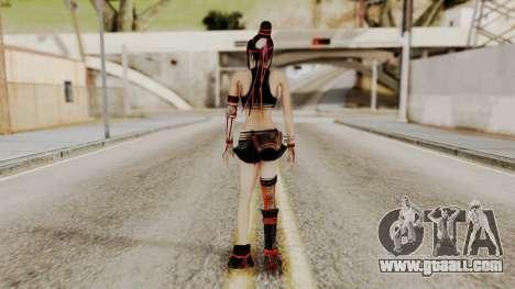 Dynasty Warriors 8 - Bao Sannian Black Costume for GTA San Andreas third screenshot