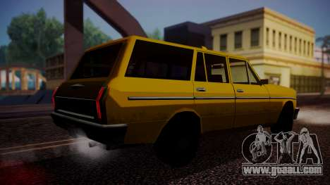 Taxi-Perennial for GTA San Andreas left view