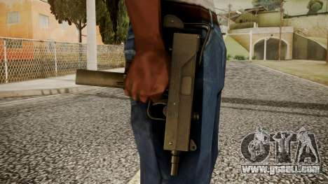Micro SMG by catfromnesbox for GTA San Andreas third screenshot