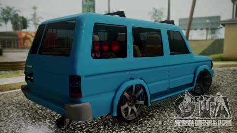 Toyota Kijang Tuned Stance for GTA San Andreas left view
