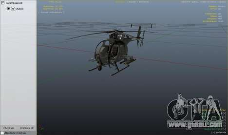 MH-6/AH-6 Little Bird Marine for GTA 5