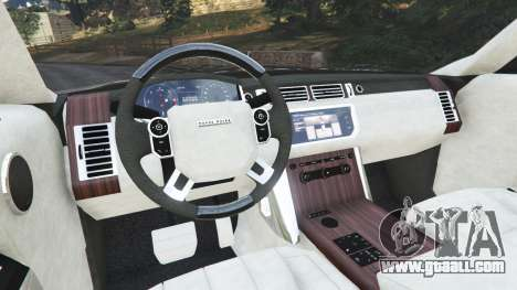 GTA 5 Range Rover Vogue 2013 v1.2 rear right side view