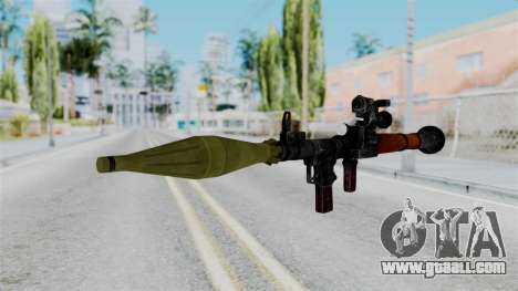 Rocket Launcher from RE6 for GTA San Andreas second screenshot