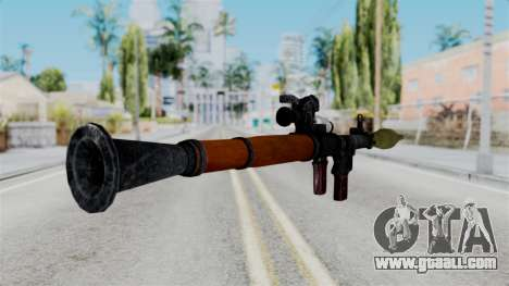Rocket Launcher from RE6 for GTA San Andreas third screenshot