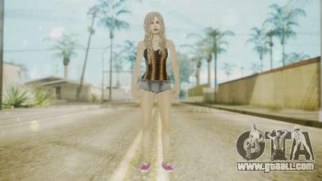 The Jack Daniels Girl Overhauled for GTA San Andreas second screenshot