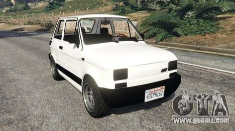 Fiat 126p v0.5 for GTA 5