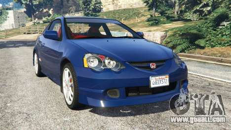 Honda Integra Type-R with license plate for GTA 5