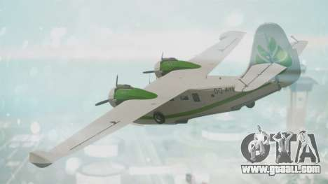 Grumman G-21 Goose DQAYL for GTA San Andreas left view