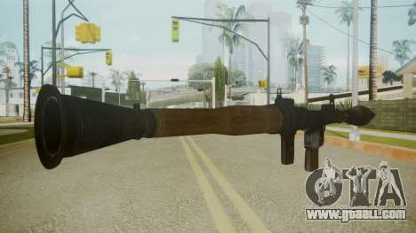 Atmosphere Rocket Launcher v4.3 for GTA San Andreas second screenshot