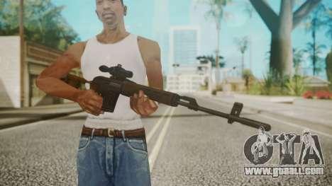 Sniper Rifle by EmiKiller for GTA San Andreas third screenshot