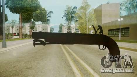 Atmosphere Sawnoff Shotgun v4.3 for GTA San Andreas