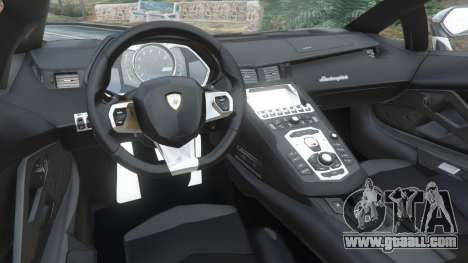 GTA 5 Lamborghini Aventador LP700-4 Police v4.5 right side view