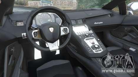 Lamborghini Aventador LP700-4 Police v4.5 for GTA 5