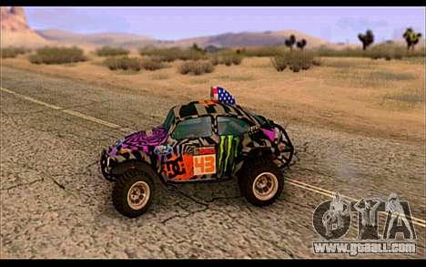 VW Baja Buggy Gymkhana 6 for GTA San Andreas left view