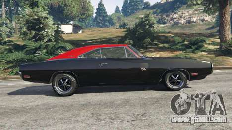 GTA 5 Dodge Charger RT 1970 v3.1 left side view