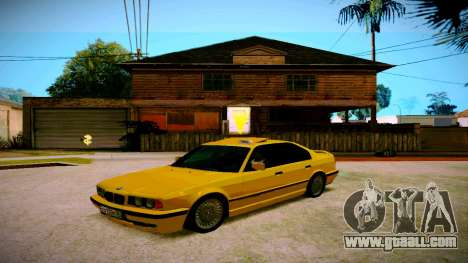 BMW 525tds E34 Russian Taxi for GTA San Andreas