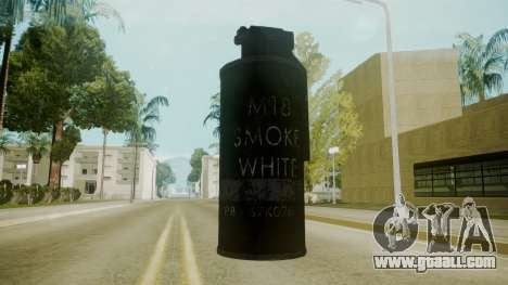 Atmosphere Tear Gas v4.3 for GTA San Andreas