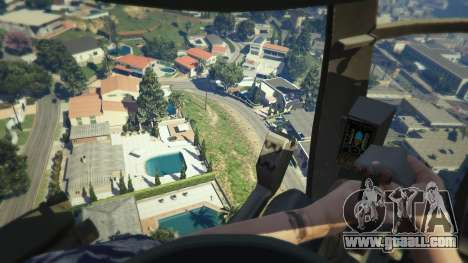 GTA 5 MH-6/AH-6 Little Bird Marine sixth screenshot