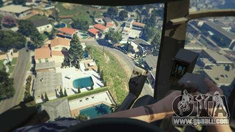 GTA 5 MH-6/AH-6 Little Bird Marine sixth screenshot