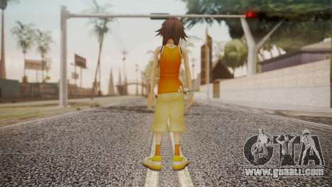 Kingdom Hearts 2 - Olette for GTA San Andreas third screenshot