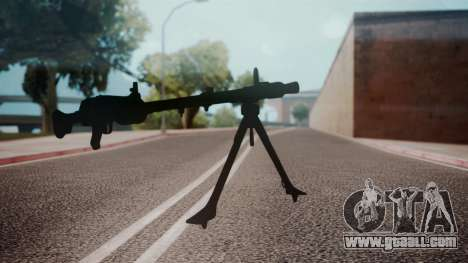 MG-34 Red Orchestra 2 Heroes of Stalingrad for GTA San Andreas second screenshot