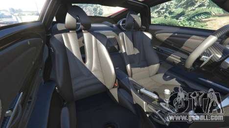 GTA 5 Pagani Huayra 2013 steering wheel