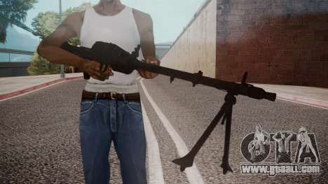 MG-34 Red Orchestra 2 Heroes of Stalingrad for GTA San Andreas
