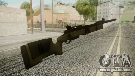 M40A5 Battlefield 3 for GTA San Andreas second screenshot