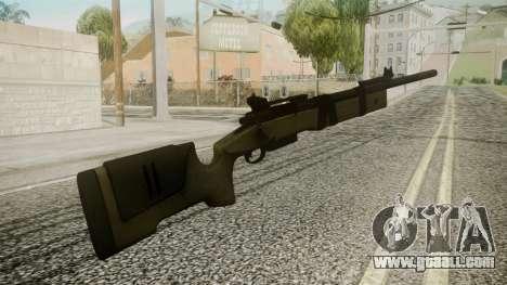 M40A5 Battlefield 3 for GTA San Andreas second screenshot