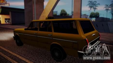 Taxi-Perennial for GTA San Andreas back left view